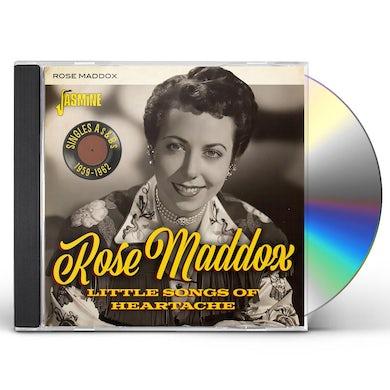 LITTLE SONGS OF HEARTACHE: SINGLES AS & BS 1959-62 CD