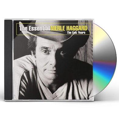 ESSENTIAL MERLE HAGGARD: EPIC YEARS (GOLD SERIES) CD