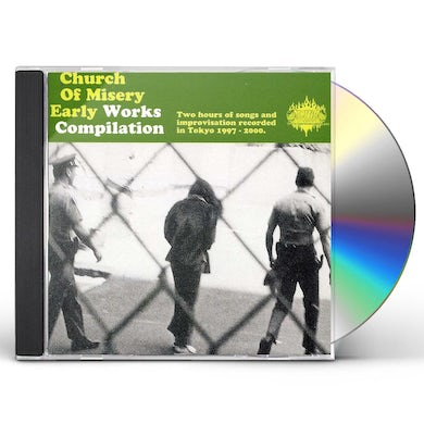 Church Of Misery EARLY WORKS COMPILATION CD