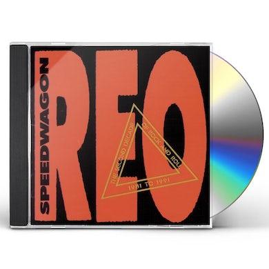 Reo Speedwagon 2ND DECADE OF ROCK N ROLL 1981-1991 CD