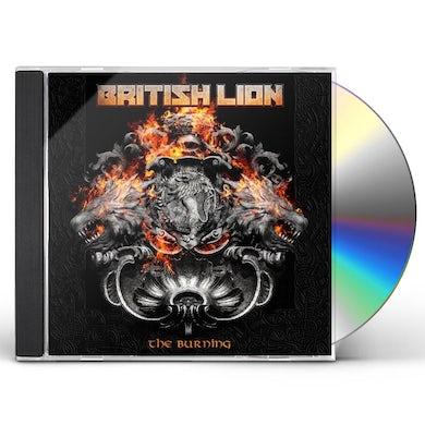 British Lion THE BURNING CD