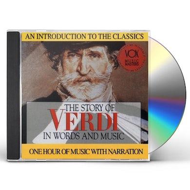 Verdi HIS STORY & HIS MUSIC CD
