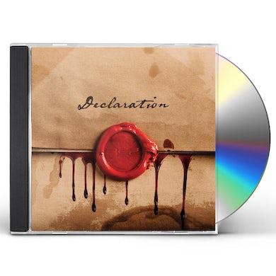 Red DECLARATION CD