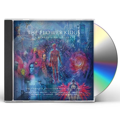 The Flower Kings KINGDOM OF COLOURS (1995-2002) (BOX) CD - UK Release