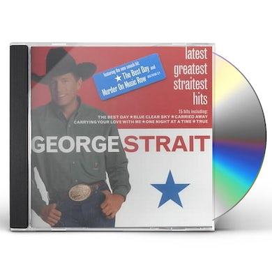 George Strait LATEST GREATEST STRAITEST HITS CD
