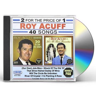 Roy Acuff 40 SONGS CD
