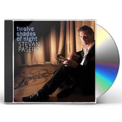 Stevan Pasero TWELVE SHADES OF NIGHT CD