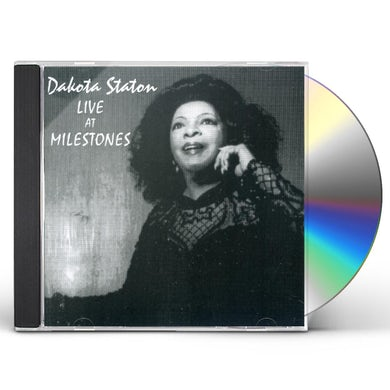 Dakota Staton CAFFE JAZZ: LIVE AT MILESTONES CD