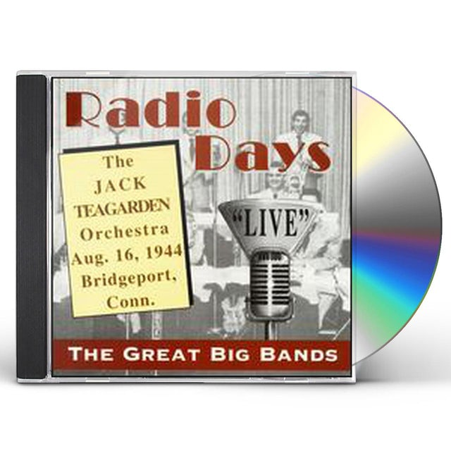Jack Teagarden BRIDGEPORT CONNECTICUT CD