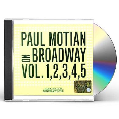 Paul Motian ON BROADWAY 1 & 2 & 3 & 4 & 5 CD