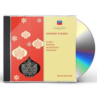 Ernest Ansermet ANSERMET IN RUSSIA CD