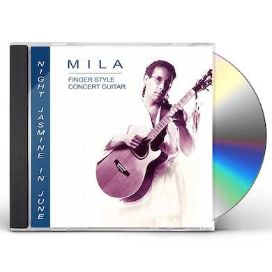Mila NIGHT JASMINE IN JUNE CD