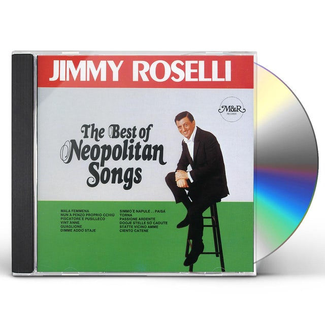 Jimmy Roselli BEST OF NEOPOLITAN SONGS CD