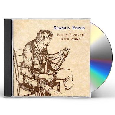 Seamus Ennis FORTY YEARS OF IRISH PIPING CD