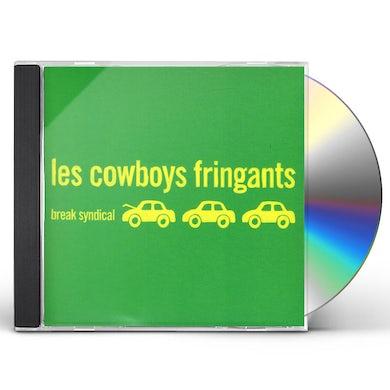 Les Cowboys Fringants BREAK SYNDICAL CD