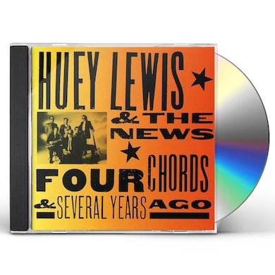 Huey Lewis FOUR CHORDS & SEVERAL YEARS AGO CD