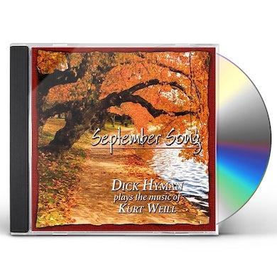 Dick Hyman SEPTEMBER SONG CD