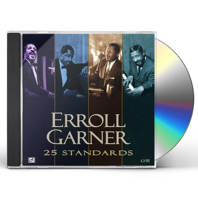 Erroll Garner TWENTY FIVE STANDARDS CD