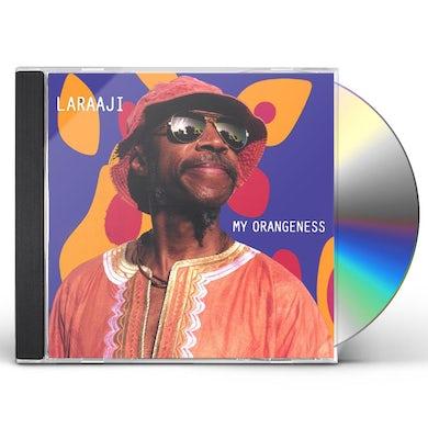 Laraaji MY ORANGENESS CD