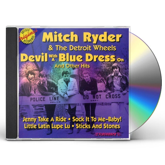 Mitch Ryder DEVIL WITH A BLUE DRESS ON & OTHER HITS CD