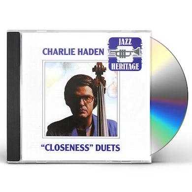 Charlie Haden CLOSENESS DUETS CD
