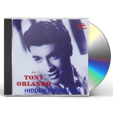 Tony Orlando HIDDEN TREASURES CD