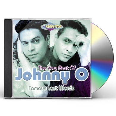 Johnny O FAMOUS VERY WORDS THE VERY BEST OF CD