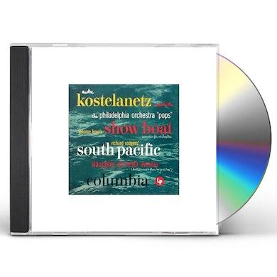 Andre Kostelanetz SCENARIOS FOR ORCHESTRA CD