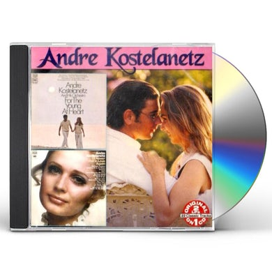 Andre Kostelanetz FOR THE YOUNG AT HEART: I'LL NEVER FALL IN LOVE CD