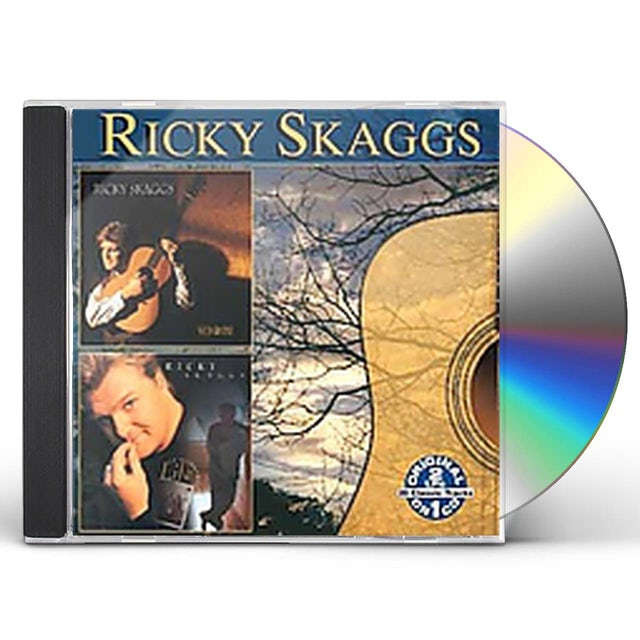 Ricky Skaggs SOLID GROUND / LIFE IS A JOURNEY CD
