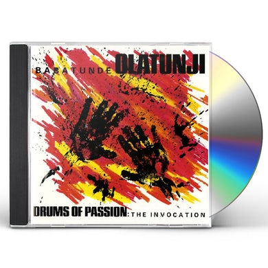 Babatunde Olatunji DRUMS OF PASSION: THE INVOCATION CD