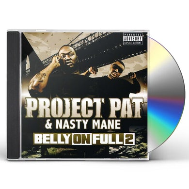 Project Pat BELLY ON FULL 2 CD