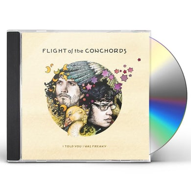 Flight Of The Conchords I TOLD YOU I WAS FREAKY CD