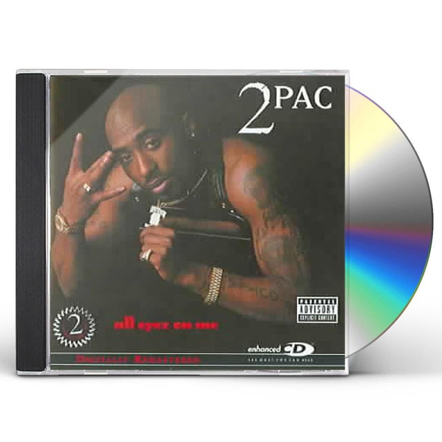 Tupac ALL EYEZ ON ME CD