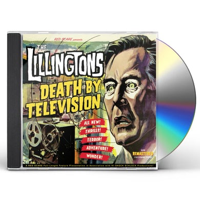 LILLINGTONS DEATH BY TELEVISION CD