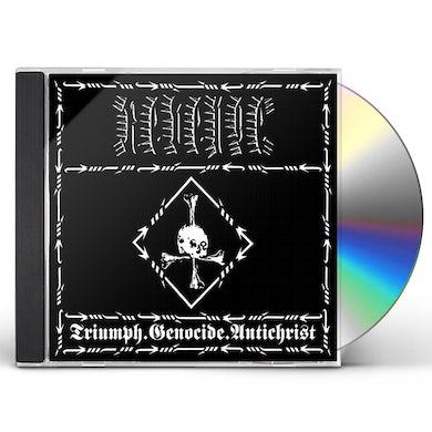Revenge TRIUMPH.GENOCIDE.ANTICHRIST CD