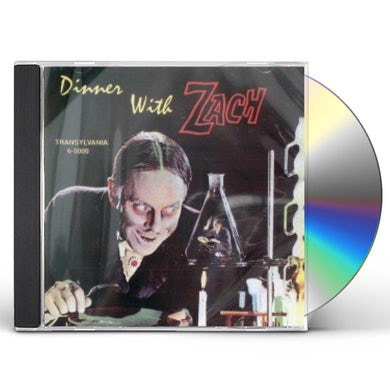 John Zacherle DINNER WITH ZACH CD