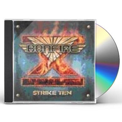 Bonfire STRIKE TEN CD