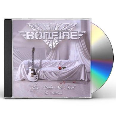 Bonfire YOU MAKE ME FEEL - THE BALLADS CD