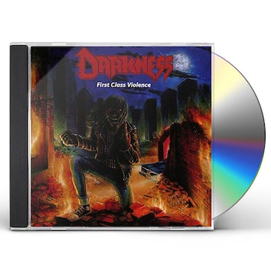 The Darkness FIRST CLASS VIOLENCE CD