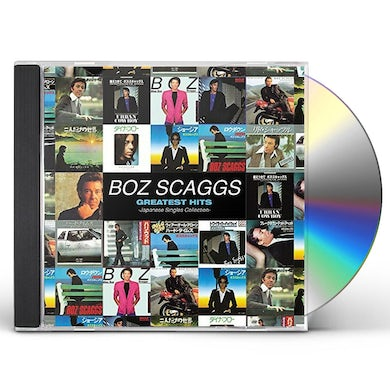 Boz Scaggs JAPANESE SINGLES COLLECTION: GREATEST HITS CD