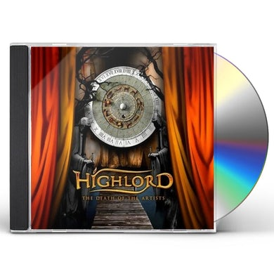 Highlord DEATH OF THE ARTISTS CD