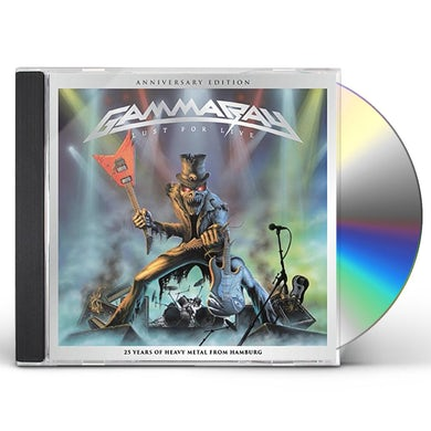 Gamma Ray LUST FOR LIVE: 25TH ANNIVERSARY CD