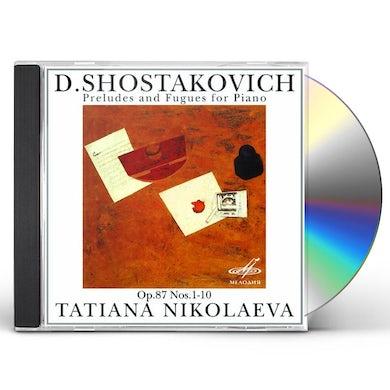 Shostakovich PRELUDES & FUGUES OP 87 NOS CD