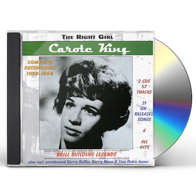 CAROLE KING - RIGHT GIRL / BRILL BUILDING LEGENDS CD