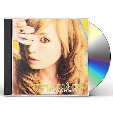 Ayumi Hamasaki AYU-MI-X 7 : PRESENTS AYU-RO MIX 4 CD