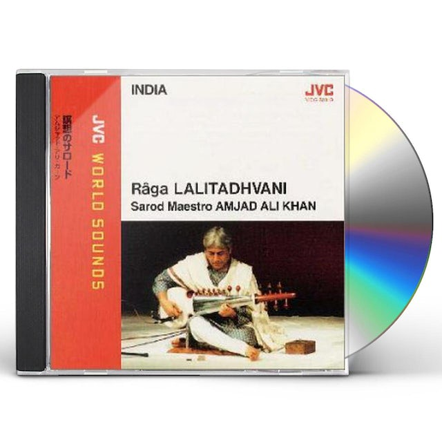 Amjad Ali Khan JVC WORLD SOUNDS SPECIAL CD