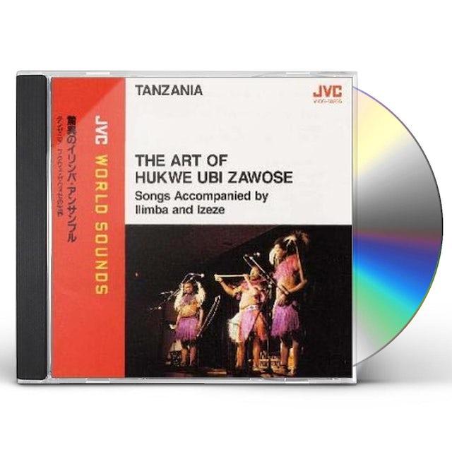 Hukwe Zawose ART OF HUKWE UBI ZAWOSE CD