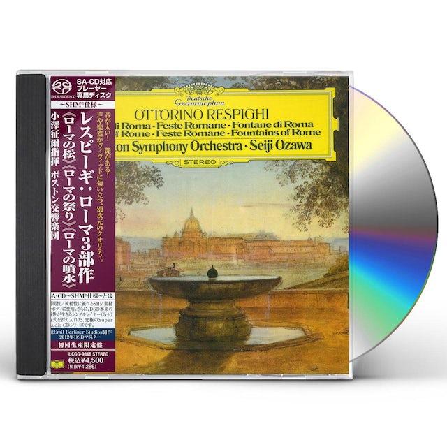 Seiji Ozawa RESPIGHI CD