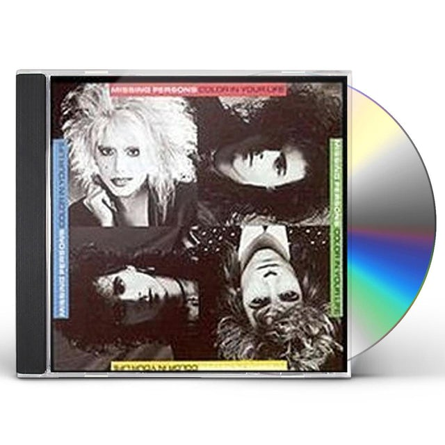 Missing Persons COLOR IN YOUR LIFE CD